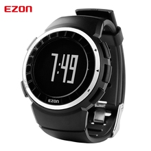Hot!! EZON Pedometer Calories Monitor Men BMI Sports Watches Waterproof 50m Digital Watch Running Hiking Wristwatch Montre Homme цены
