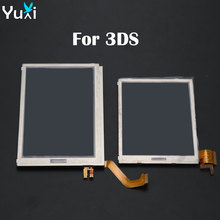 YuXi Brand New Replacement Top Upper / Bottom Lower LCD Display Screen for Nintendo 3DS стоимость