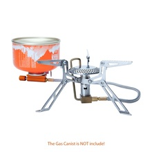 Fire Maple Split Upgrade Version Gas Stove Ultralight Stainless Outdoor Cooker Gas Burner Camping Equipment 2990W 146g FMS-118