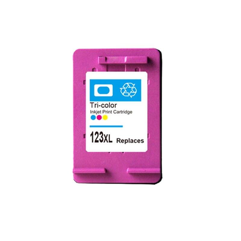 For HP 123 Color Ink cartridge For HP123 123XL Deskjet 1110 2130 2132 2133 2134 3630