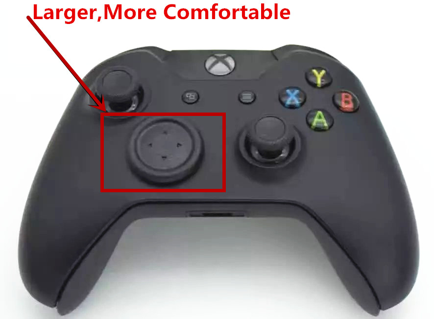 For Xbox One Xboxone Controller Gamepad Large Size PS Flat Button Round D Pad Cross