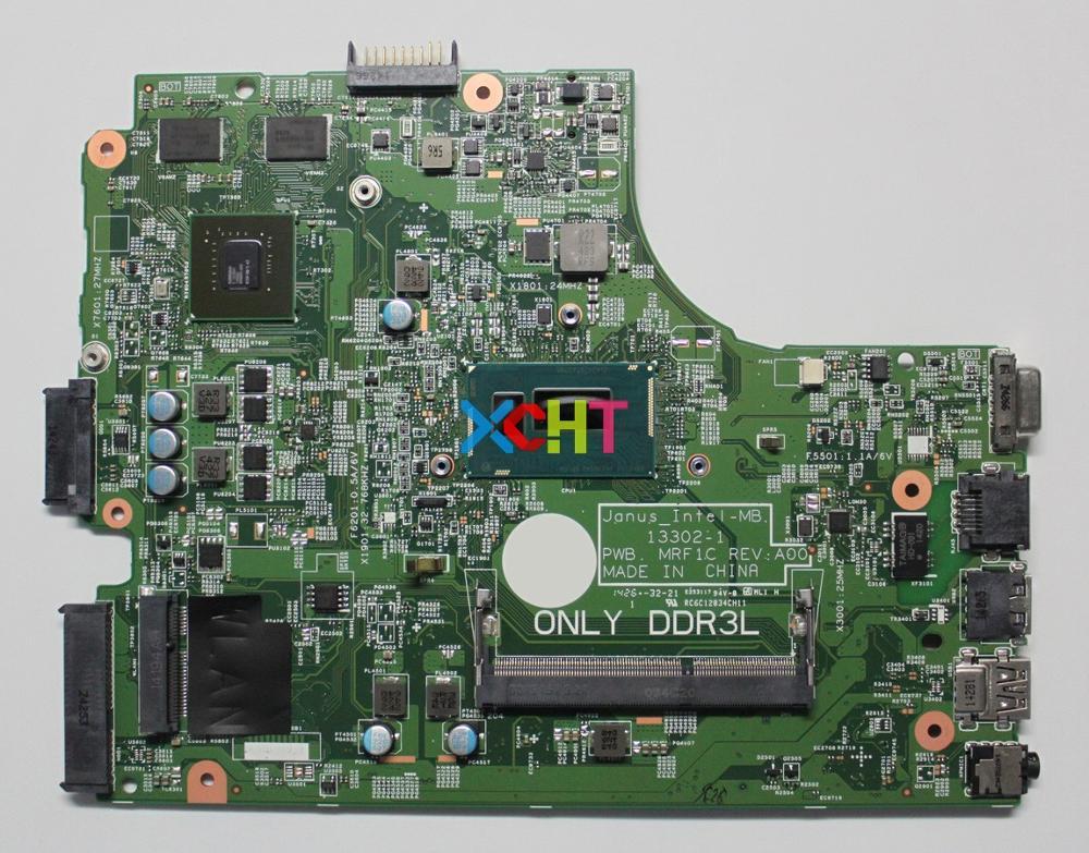 for Dell Vostro 3446 TFM8R 0TFM8R CN-0TFM8R 13302-1 PWB:MRF1C REV:A00 w 2957U CPU Laptop Motherboard Mainboard Testedfor Dell Vostro 3446 TFM8R 0TFM8R CN-0TFM8R 13302-1 PWB:MRF1C REV:A00 w 2957U CPU Laptop Motherboard Mainboard Tested