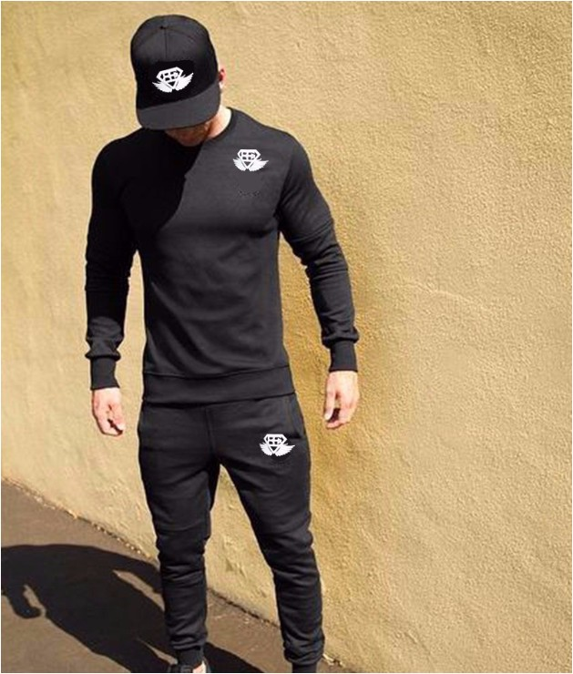 2017 Men Casual Hoodies Pullover Tracksuits Men Sweatshirt Hooded Fitness Bodybuilding Brand Clothing Coat Hooded Solid