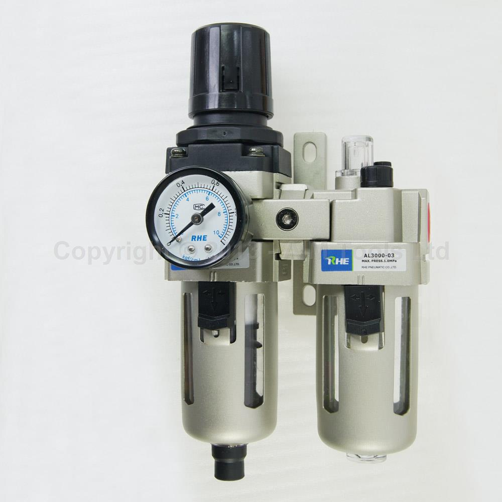 Industrial Air Filter Moisture Water Trap Pneumatic Tools Oil Lubricator AC3010-03D Industrial Air Filter Moisture Water Trap Pneumatic Tools Oil Lubricator AC3010-03D
