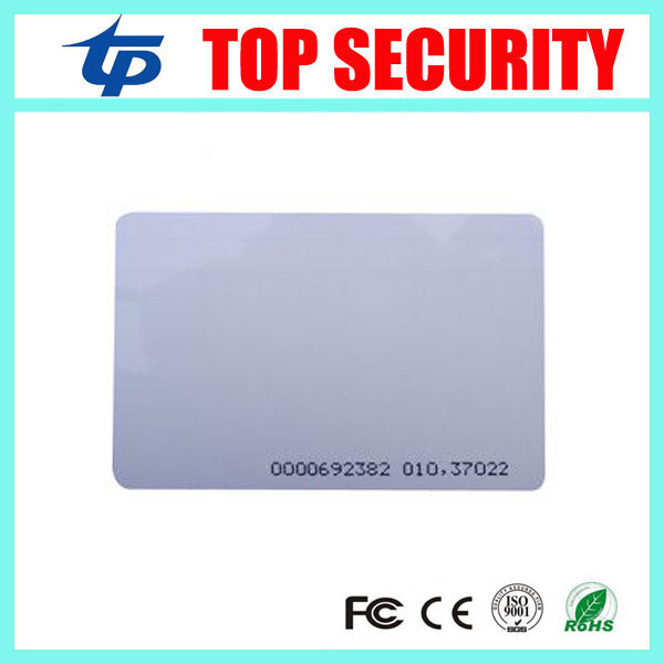 TK4100 EM card EM4100 RFID card 125KHZ proximity card for time attendance and access control RFID card rfid contactless card proximity id card rfid iso pvc card time attendance for access control 125khz with tk4100 em4100 chip
