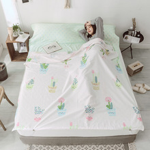 цена на 100% Pure Cotton Healthy Travel Portable Sleeping Bag Four Seasons Used Hotel Septum Sleeping Bag Guest Room Sheets Quilt Cover