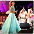 Роскошный Бисер/Блестки Топ Myriam Fares Знаменитости Платье Мудрец Из Органзы Длинные Вечерние Платья 2016 Арабский Свадебные Платья