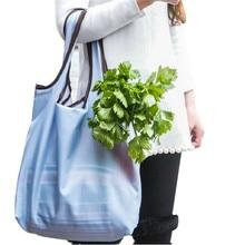 Складные Сумки Супер Овощной Рынок ЭКО Многоразовые Прочный Путешествия Хранения Сумки Чехол Для Хранения Аксессуаров Питания