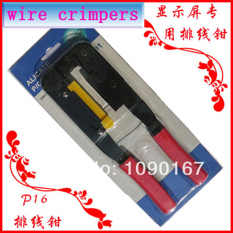 LED Display DIY TOOL Ribbon Cable Crimping Plier For FC Terminal HUB Flat Cable,computer/LED Display Data Transfer Wire