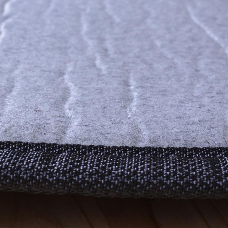 Japāņu grīdas bambusa paklāja spilventiņš ar lielu izmēru - Mājas tekstils - Foto 5