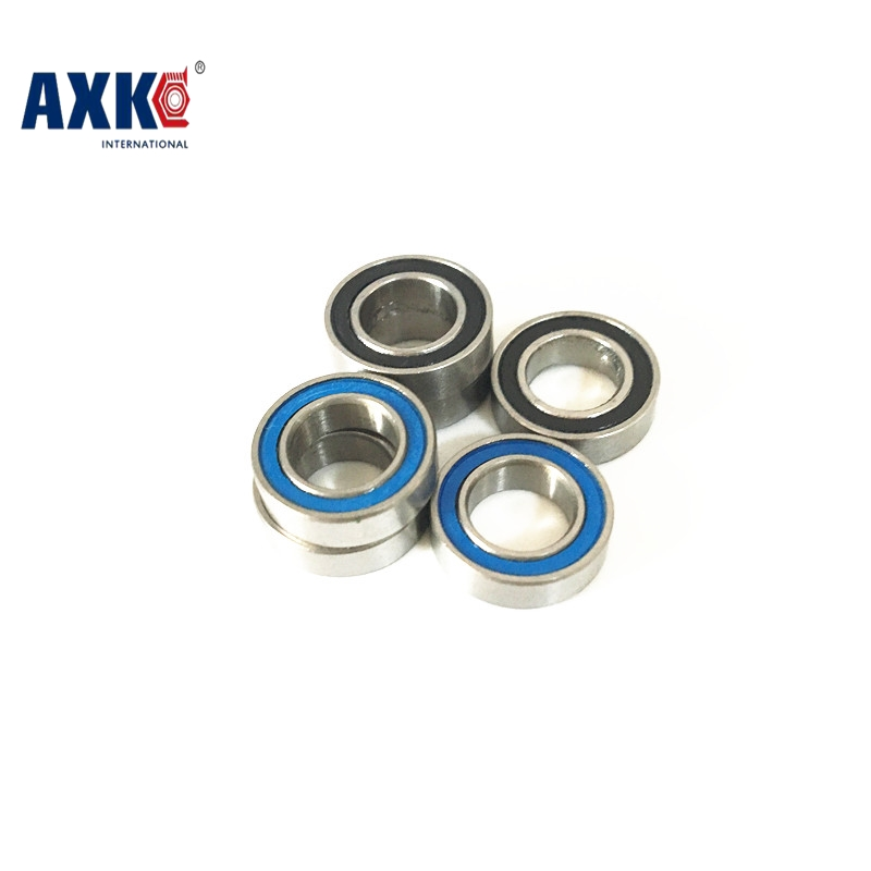 50pcs/lot free shipping High quality double rubber sealing cover miniature deep groove ball bearing MR106-2RS 6*10*3 mm mr106 купить