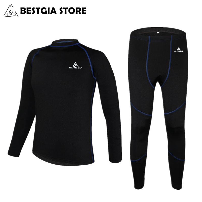 Cycling Bike Clothing Suit Sports Underwear Long Sleeve Warm Jersey /& Pants