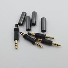 อะแดปเตอร์หูฟังแจ็คปลั๊กเสียบสำหรับเครื่องเสียง Technica ATH M70X M50X M40X หูฟังคุณภาพสูง DIY หัวเชื่อม