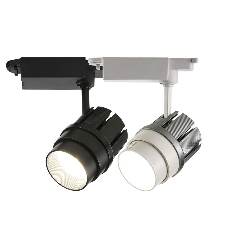 30w Beam Angle Changeable Track Lighting Rail Lamp Spot 30W COB Clothing Shoes Shop Store Track Lights LED Rail Spotlight luxury pu leather flip case stand cover for huawei mediapad t2 10 0 pro fdr a01l fdr a01w fdr a03l a04l full protection covers