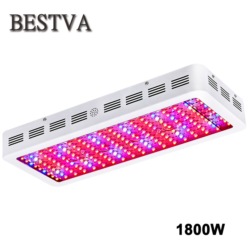 BestVA 1800W Led grow light Epistar full spectrum growth lamp panel for indoor plants Flowers greenhouse hydroponics tent led grow light lamp for plants agriculture aquarium garden horticulture and hydroponics grow bloom 120w 85 265v high power
