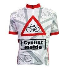 New Cyclist Inside Alien SportsWear Mens Cycling Jersey Cycling Clothing Bike Shirt Size 2XS TO 5XL