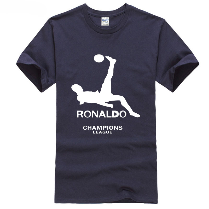 Tshirt High Quality 2018 Ronaldo c NO.7 footballer soccersing europe programs Madrid city