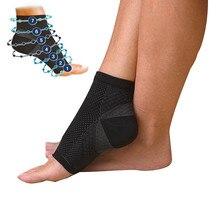 Foot angel анти усталость компрессионный рукав на ногу лодыжки Поддержка бег цикл баскетбол спортивные носки для занятий на открытом воздухе мужчины лодыжки брекета носок