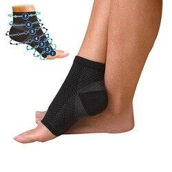 Ножка angel, анти усталости, компрессионный рукав на ногу, поддержка щиколотки, для бега, баскетбола, спортивные носки для занятий на открытом ...