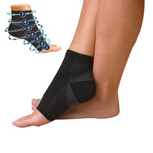 Foot angel anti fatigue compression foot sleeve Ankle Support Running Cycle Basketball Sports Socks Outdoor Men Ankle Brace Sock