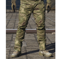 Spring Autumn Men Bionic Camouflage Tactical Military Pants Male Outdoor Climbing Hunting Sports Scratch Resistant Long