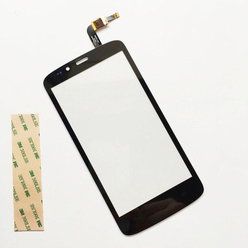 Noir 5.0 Pour huawei Honneur 3C Lite Tactile Écran Tactile Digitizer Panneau Avant En Verre de Remplacement + 3 M Autocollant