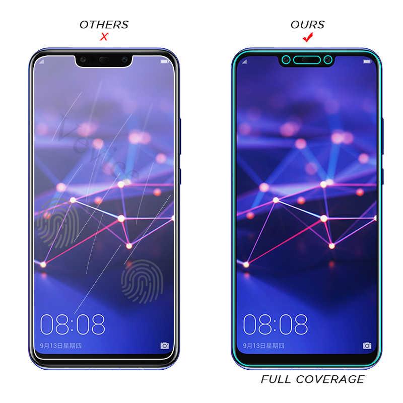 Temperli Cam Için Huawei Onur 8X 8C P30 P20 Mate 20X20 Lite 10 Pro Y9 2018 Ekran Koruyucu film Beyaz Yan onarım tutkalı