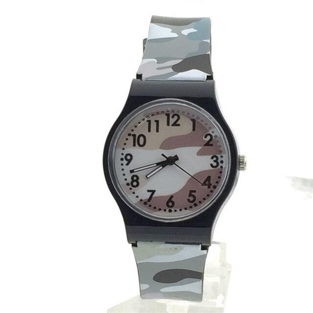 Aimecor 2018 New Fashion Casual Children For Girls Boy Children Gift Cute Camouflage Watch Quartz Wrist Watches
