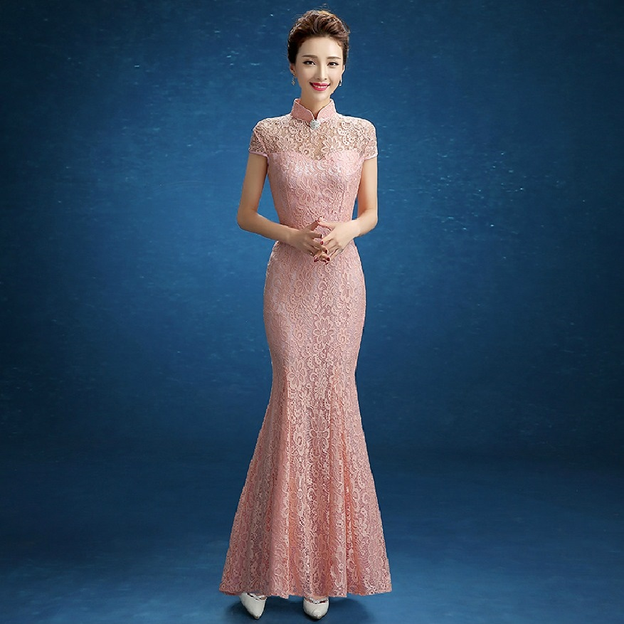 Online buy wholesale modern chinese dress from china for Chinese wedding dresses online