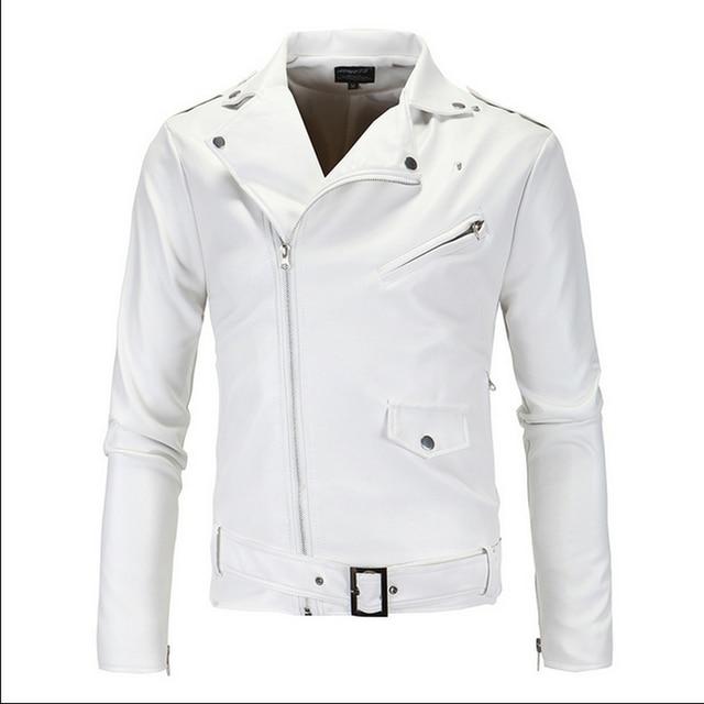 Кожаная Куртка Мужчины Человек Осень мужская Мода С Длинным Рукавом Мужской Кожаный Жилет Куртки Для Мужчин Весте Cuir Homme