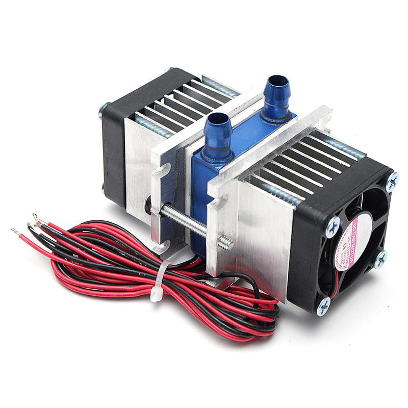 Thermoelectric Peltier Refrigeration TEC1-12706 Cooler+water cooling System Kit tec 12706 thermoelectric peltier refrigeration cooling system kit cooler fan