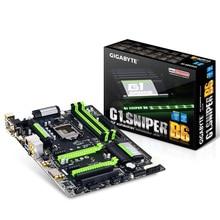 Новый оригинальный b85 motherboardfor gigabyte g1.sniper b6 b85 lga1150 atx ddr3 32 г материнская плата
