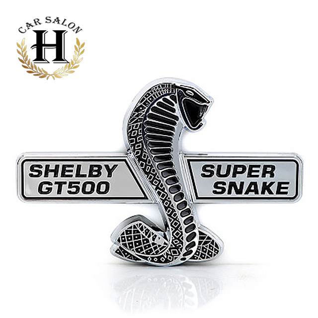 Fit for ford mustang shelby gt500 gt 500 super snake cobra wall plaque emblem badge