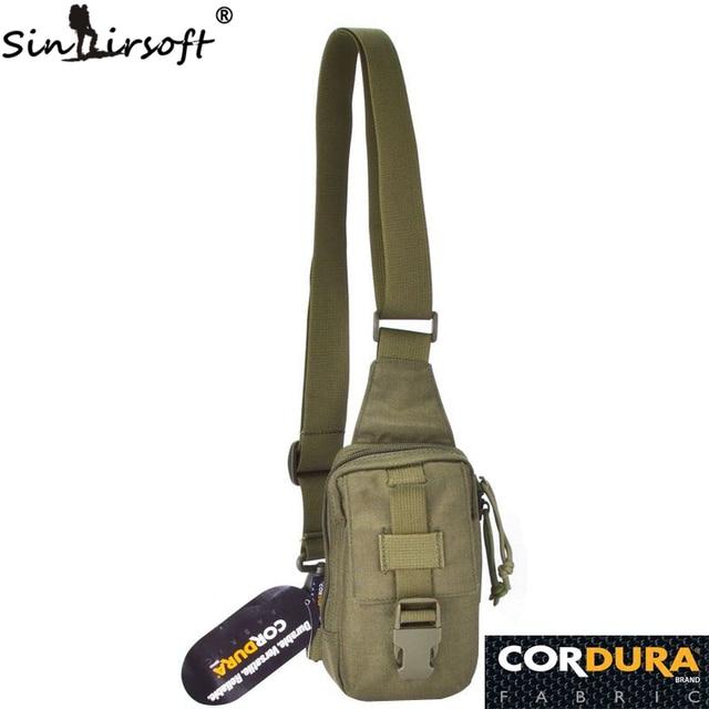 Mini Berburu Memancing Camping Outdoor Olahraga Rendam Ransel Selempang Sling Single Tas Bahu 1000D Cordura Kain