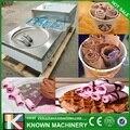 Новейший! 304 нержавеющая сталь пищевой 35 см машина для приготовления жареного мороженого с компрессором Panasonic (Бесплатная доставка по морю)