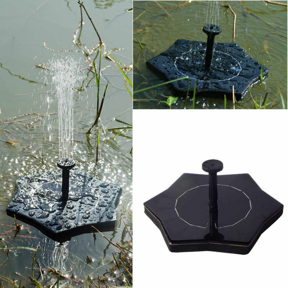 7V солнечная панель с питанием водяной фонтанный насос аквариум для рыб пруд