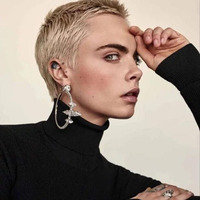 Clip On Earrings Without Piercing Jewelry Geometric Artificial Crystal Earrings Rhinestone Silvery Big Circle Earrings