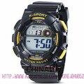 30 M à prova de água analógico Digital relógio eletrônico Rubber Band alarme esportes ao ar livre para os homens menino à prova d ' água esporte relógios