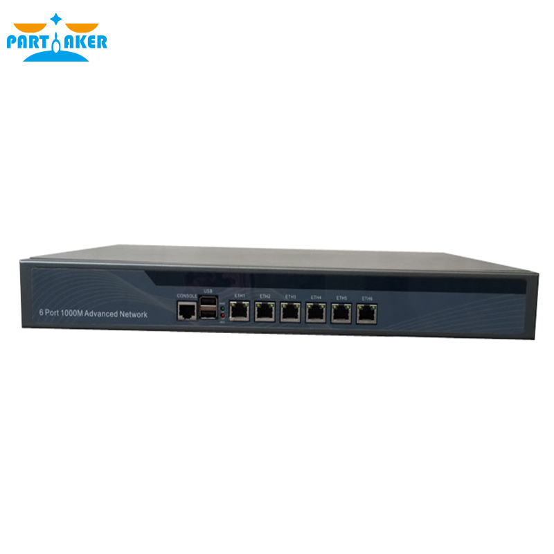 Partaker R9 B75 I5 3470 6 LAN Ports Firewall 1U Type Soft Router with 2G RAM 8G SSD