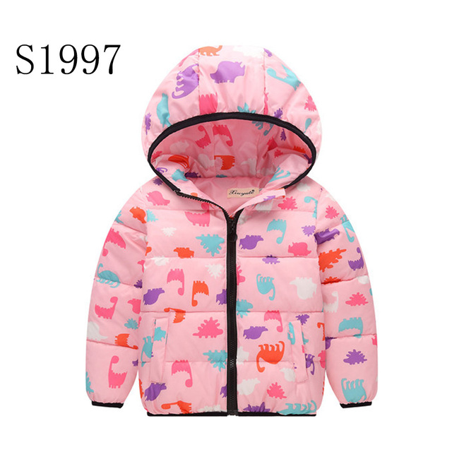 online retailer 9ed5d e09d9 US $15.99  Kids Winter Coat 2017 New Brand Baby Winter Jackets For  Teenagers Girls Warm Kinder Winterjacke High Quality 5 10 Years-in Down &  Parkas ...