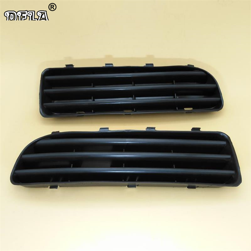цена на For Skoda Octavia A4 MK1 2001 2002 2003 2004 2005 2006 2007 2008 2009 2010 2011 Front Bumper Fog Light Cover Cap Grille