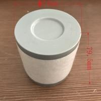 Vacuum pump oil mist filter / fume separator / exhaust filter cartridge KF25 series