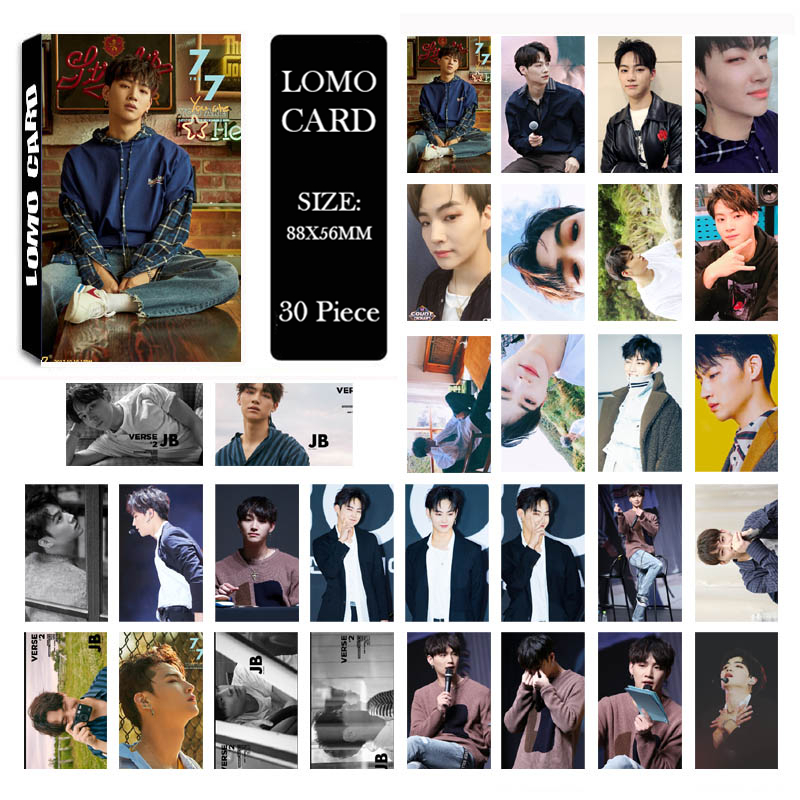 Beads & Jewelry Making Kpop Got7 7for7 Album Lomo Cards K-pop New Fashion Self Made Paper Photo Card Hd Photocard