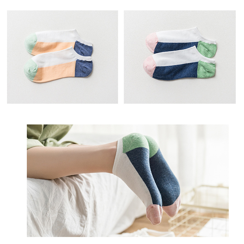 YSMILE Y New Cotton Women Socks Simple Style High Quality Ship Sox Meias For Ladies Girls Cotton Spring Summer Colored Socks