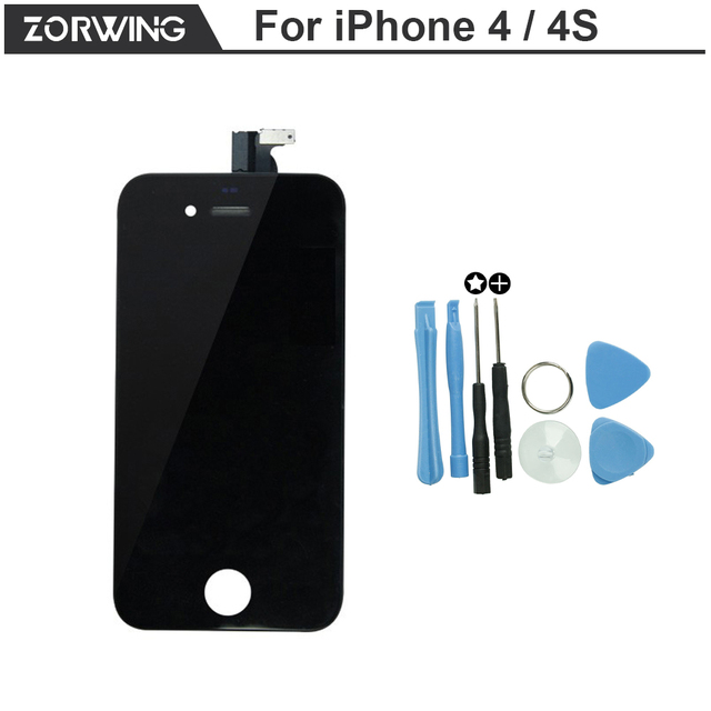 Hot Sale Grade AAA Quality Replacement Screen LCD For iPhone 4 4S Display With Digitizer Touch Screen Assembly in Black White