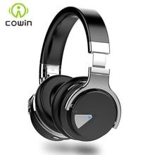 Cowin E-7 Над Ухом Беспроводные Bluetooth Наушники с Микрофоном Стерео Bluetooth-гарнитура/Наушники для Телефона ПК 30 Часов Музыки