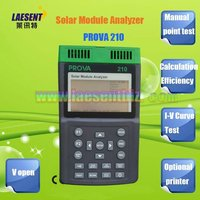 الشمسية وحدة محلل PROVA 210 (12A ، 60 فولت) الطاقة الشمسية متر|power meter|solar power metersolar module analyzer -
