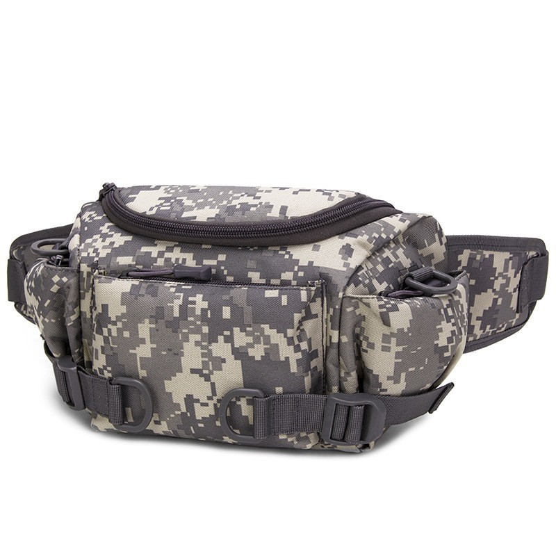 6dd6f797dca0 US $13.68 42% OFF|Men Waist Bag Tactical Waist Fanny Pack Nylon Waterproof  Belt Bum Bag Military Travel Riding Motorcycle Multifunction Small Bag-in  ...