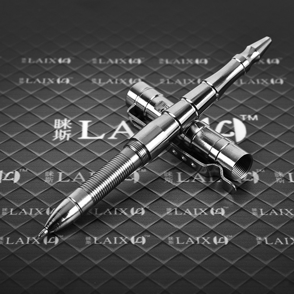Portable Outdoor Self-Defense Tactical Pen Emergency Glass Breaker EDC Tool for Personal Safty Women Security Stainless Steel new stainless steel tactical pen with led light self defense weapon emergency kit portable glass breaker gift box edc tool