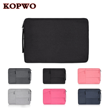 KOPWO Portable Computer Liner Bag Laptop Notebook Messenger Case Bag for Apple Macbook Dell HP Sony Thinkpad Lenovo 13 14 15